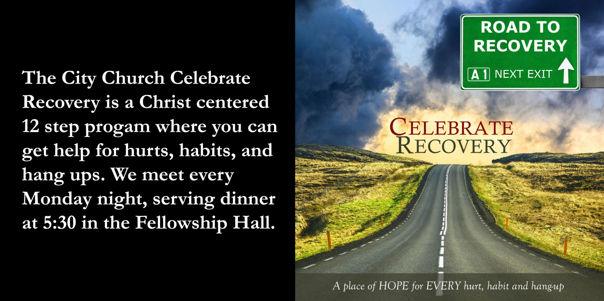 Celebrate Recovery at The City Church